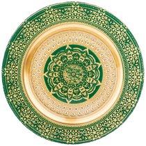 Тарелка «Jasmin» Green 28 Cm Без Упаковки - Akcam