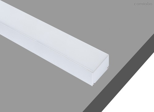 Donolux накладной/подвесной алюминиевый профиль, 2 метра, габариты в сборе: 35х35х2000 мм, - Donolux