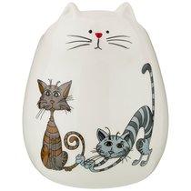Подставка Для Кухонных Принадлежностей Коллекция Озорные Коты 12x12x15 см - Hongda Ceramics