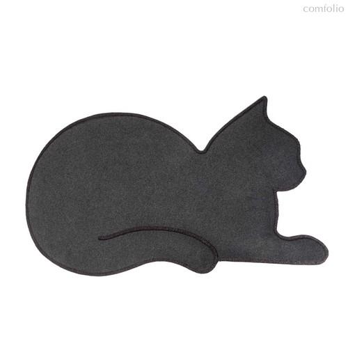 Коврик придверный Cat серый, цвет серый - Balvi