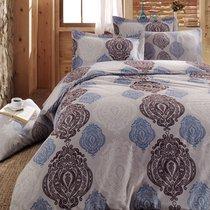 КПБ COTTON LIFE Creton 2 сп. (70*70/2 шт) PERSİA, цвет голубой, 2-спальный - Meteor Textile
