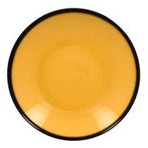 Тарелка-салатник, 23 см, высота 4 см, 690 мл (желтый цвет) - RAK Porcelain