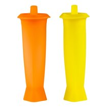 Набор форм для льда Prodyne 7,6х6,3х21,6см, зеленая и оранжевая, 2шт п/к - Prodyne