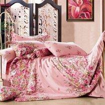 Комплект постельного белья С-118, цвет розовый, размер 1.5-спальный - Valtery