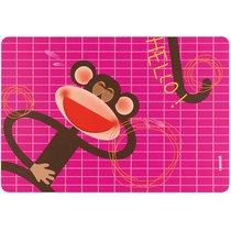 Коврик сервировочный детский Hello обезьяна - Guzzini