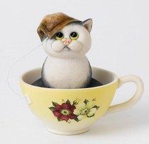 Чайные церемонии 9 см - Сomic Cats - Enesco