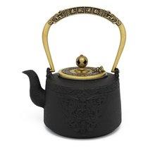 Чайник заварочный Bredemeijer Emperor 1,2л, с фильтром, ручная работа, чугун, п/к - Bredemeijer