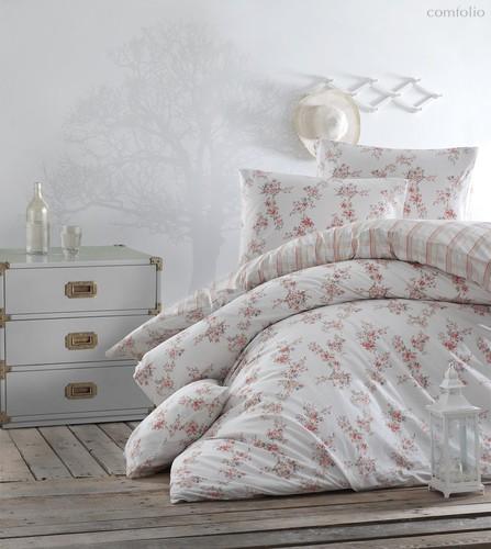 Постельное белье Ranforce Clair, цвет абрикосовый, 1.5-спальный - Altinbasak Tekstil