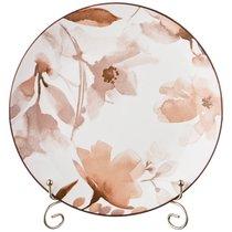 Тарелка Обеденная Aquarelle 25,5 См Коричневый, цвет коричневый - Lianjun Ceramics