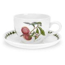 """Чашка для завтрака с блюдцем Portmeirion """"Помона.Персик"""" 500мл - Portmeirion"""
