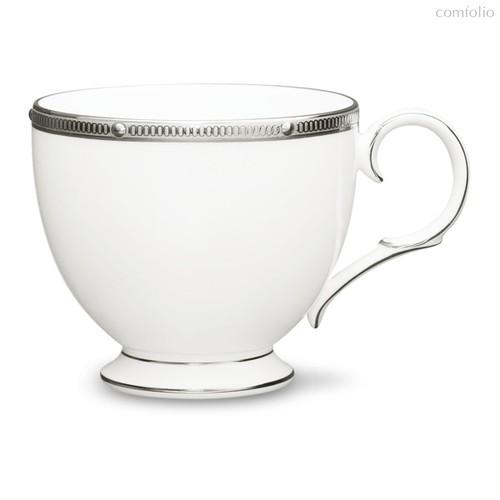 """Чашка чайная 200мл """"Рочель, платиновый кант"""" - Noritake"""