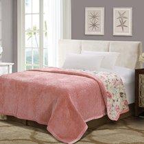 "Плед ""DO&CO"" Арфа LUX 160X220, цвет светло-розовый, 160 x 220 - Meteor Textile"