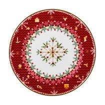 Тарелка Christmas Collection Диаметр 21 см Высота 1,6 см - Сheerful porcelain