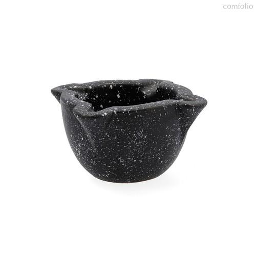 Ступка для специй Ebano 12x8см, цвет черный - Quid