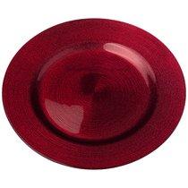 Тарелка Miracle Red Shiny 28 см Без Упаковки - Akcam