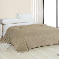 "Плед Cleo ""PINOLI"" велсофт евро 200*220 200/004-PN, цвет сатин, 200 x 220 - Cleo"