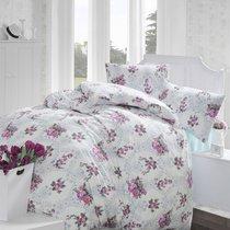 Постельное белье Ranforce Arnes, цвет розовый, размер Евро - Altinbasak Tekstil