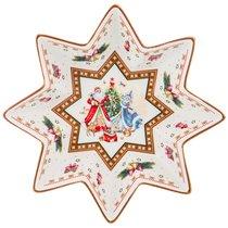Салатник Christmas Collection Диаметр 17 см Высота 4 см - Cheerful Porcelain