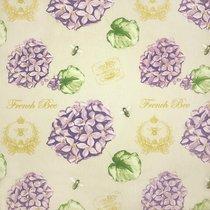 Ткань Гортензия, на отрез, арт. 8917/1, цвет сиреневый - Altali