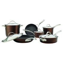 """Набор кухонной посуды из 11 предметов Anolon """"Nouvelle Copper Luxe Sable"""" - Anolon"""