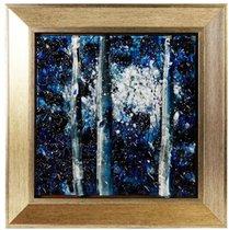 Картина стеклянная Поэзия ночи 30х30см - Top Art Studio