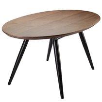 Столик Tina, 160/200х90х76 см, орех - Berg