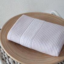 """Полотенце микрокотон """"KARNA"""" TRUVA двухсторонний 40x60 см 1/1, цвет светло-розовый, 40x60 - Bilge Tekstil"""