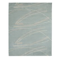 Ковер ручной работы из хлопка светло-серого цвета, 160х230 см - Tkano