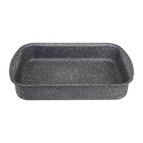 Форма Agness Премиум Grace Прямоугольная 30Х22X6 см, Трехслойное Покр Granit, Pfoa Free - ISFA Metal Tekstil