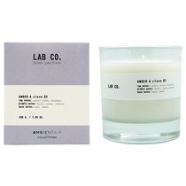 Свеча ароматическая LAB CO, Амбра и гвоздика, 40 ч - Ambientair