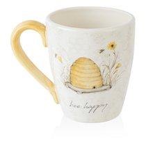 Кружка Certified Int. Пчелки. Bee happy 650мл, керамика - Certified International