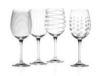 Фужер для белого вина 450мл, набор 4 шт Хрустальное стекло - Mikasa