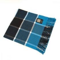 Плед INCALPACA (100% хлопок) PH-12, цвет синий, 170 x 210 - Incalpaca TPX