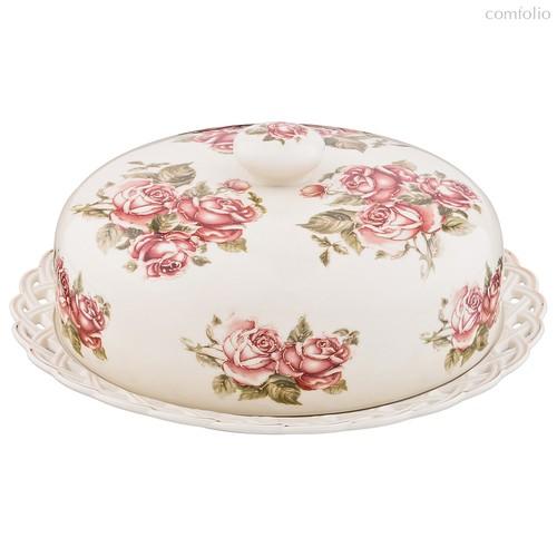 Блюдо Для Блинов с Крышкой Lefard Корейская Роза 25 см - Guangdong Xiongxing Home Furnishing Ceramics