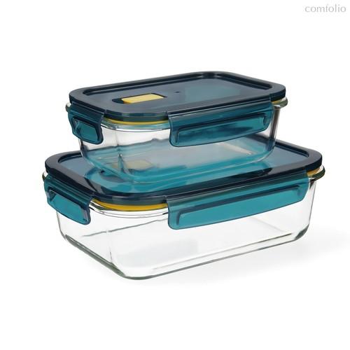 Набор герметичных пищевых контейнеров Astral 2шт., цвет прозрачный - Quid