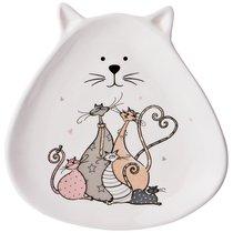 Тарелка Десертная Коллекция Счастливое Семейство 19, 2X19X3 см - Zhenfeng Ceramics
