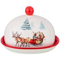 Масленка Коллекция Новогодняя Сказка 15,5x12,6x11,5 см - Zhenfeng Ceramics