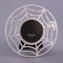 Фоторамка со Стразами Настольная 5x5 смДиаметр 10 см - Guangzhou Xincle Handicraft Liu Qing Jewelry