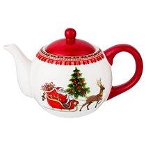 Чайник Оленья Упряжка 950Мл - Fujian Dehua Huachen Ceramics