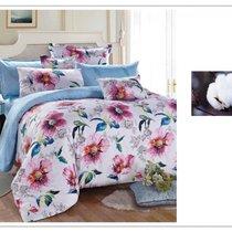 Комплект постельного белья SDS-47, цвет голубой, размер 2-спальный - Famille