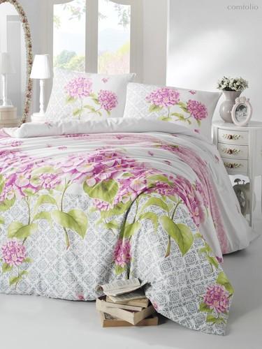 Постельное белье Ranforce Larin, цвет сиреневый, размер 1.5-спальный - Altinbasak Tekstil