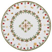 Тарелка Christmas Collection Диаметр 26 см Высота 2,2 см - Сheerful porcelain