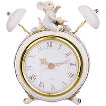 Часы Настольные Кварцевые 11x6x14,5 см Диаметр Циферблата 8 см - Porcelain Manufacturing Factory