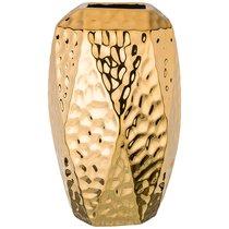 Ваза Декоративная Золотая Коллекция 18,5x18 см Высота 30,5 см - Hebei Grinding Wheel Factory