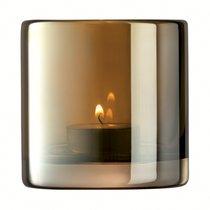 Подсвечник Signature Epoque 8,5 см, янтарь - LSA International