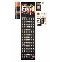 Скретч-постер #100ДЕЛ FOOD edition - 1DEA.me