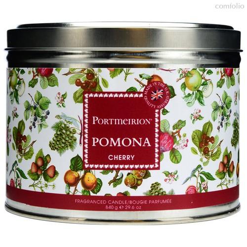 """Свеча в жестяной банке с крышкой, с 3 фитилями Portmeirion """"Помона""""13см - Portmeirion"""