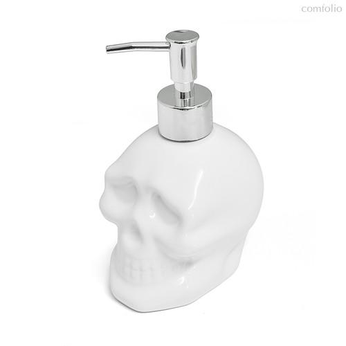 Дозатор для жидкого мыла Skully, цвет белый - Balvi