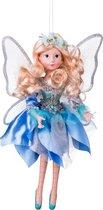Декоративное Изделиефея-Бабочка В Бирюзовом Платье Высота 36 см - Polite Crafts&Gifts