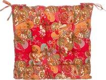 Сиденье Для Стула Деко Красный 40X40 см, 100% Полиэстер - Gree Textile Dingfeng